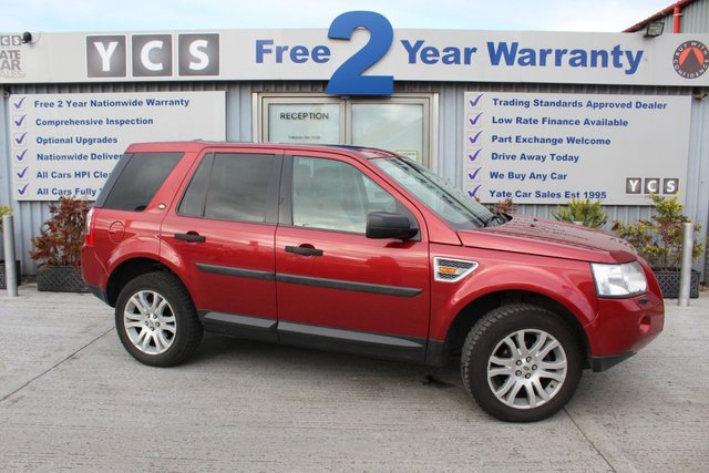 2008 08 LAND ROVER FREELANDER 2.2 TD4 HSE 5d 159 BHP (FREE 2 YEAR WARRANTY)