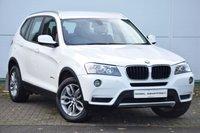 USED 2014 14 BMW X3 2.0 XDRIVE20D SE 5d 181 BHP SAT NAV - HEATED LEATHER - DAB