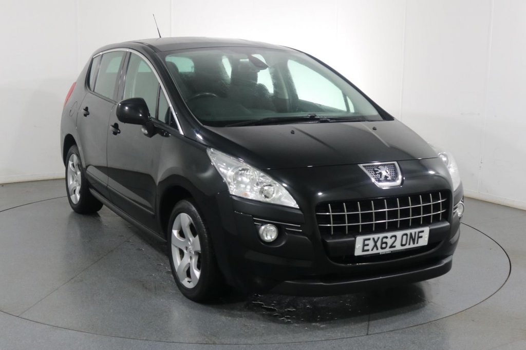 USED 2012 62 PEUGEOT 3008 1.6 ACTIVE E-HDI FAP 5d 112 BHP