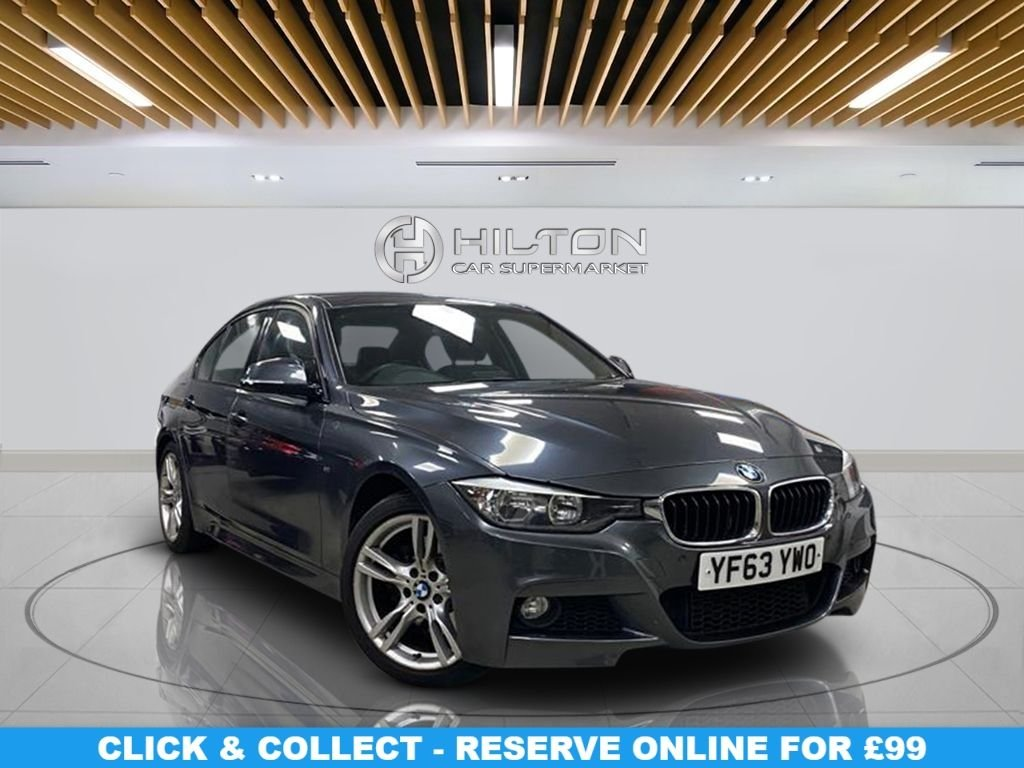 """USED 2014 63 BMW 3 SERIES 2.0 325D M SPORT 4d 215 BHP 18"""" Alloys, M Sport Package, Navigation System, Parking Sensors, Leather Upholstery"""