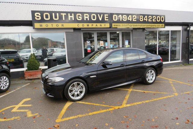 USED 2013 13 BMW 5 SERIES 2.0 520D M SPORT 4d 181 BHP