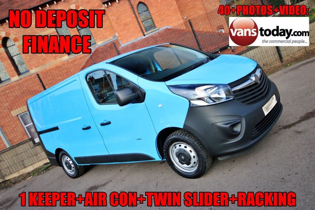 USED 2015 15 VAUXHALL VIVARO 1.6 2900 L1H1 CDTI P/V 118 BHP + AIR CON + TWIN SLIDER NO DEPOSIT FINANCE+ 1 KEEPER + AIR CON + GREAT SPEC