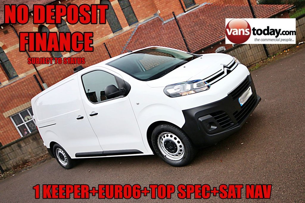 USED 2017 17 CITROEN DISPATCH 1.6 M 1000 ENTERPRISE BLUEHDI S/S 114 BHP 6 SPEED NO DEPOSIT FINANCE + 1 KEEPER + EURO 6 + AIR CON