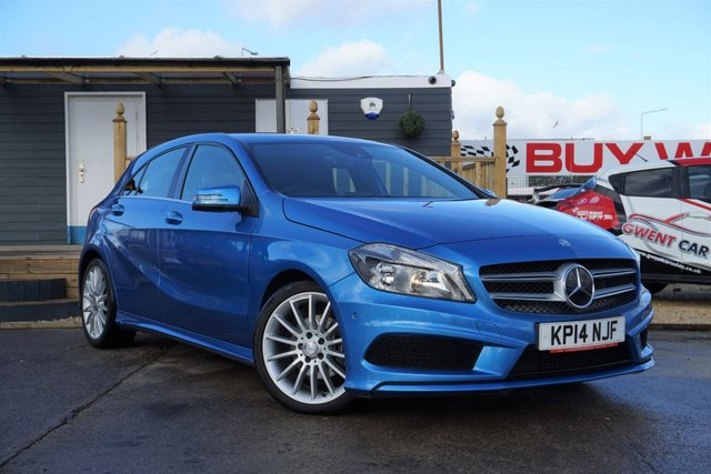 USED 2014 14 MERCEDES-BENZ A-CLASS 2.1 A200 CDI AMG SPORT 5d 136 BHP *ONLY 45K, FANTASTIC EXAMPLE, DEALER HISTORY*