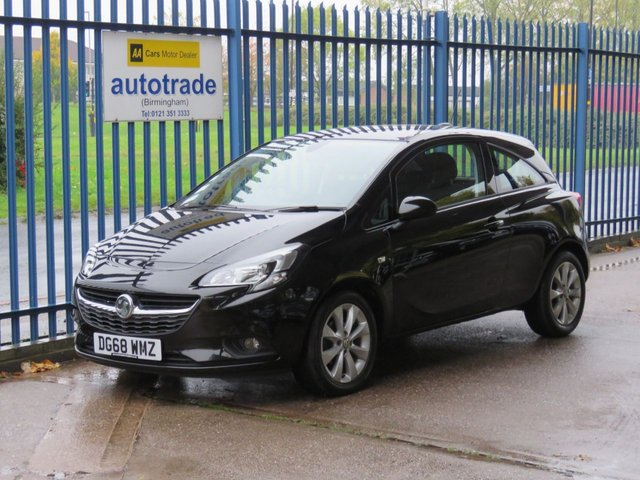 USED 2018 68 VAUXHALL CORSA 1.4 ENERGY 3d 74 BHP Low Miles with History