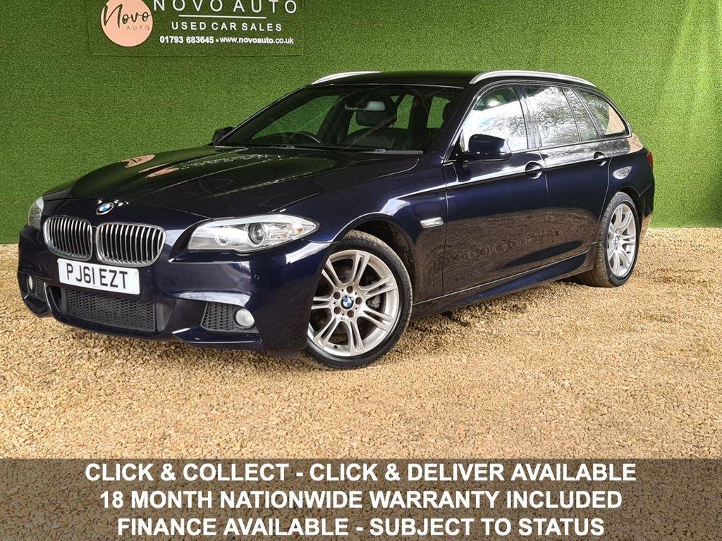 USED 2011 61 BMW 5 SERIES 2.0 520D M SPORT TOURING 5d 181 BHP