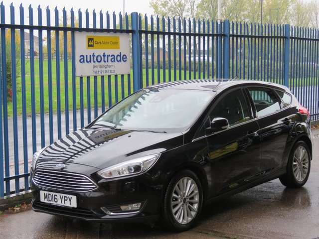 USED 2016 16 FORD FOCUS 1.5 TITANIUM X TDCI 5dr 118 Sat nav 1/2 Leather DAB Cruise Heated seats Alloys Finance arranged Part exchange available Open 7 days ULEX Compliant