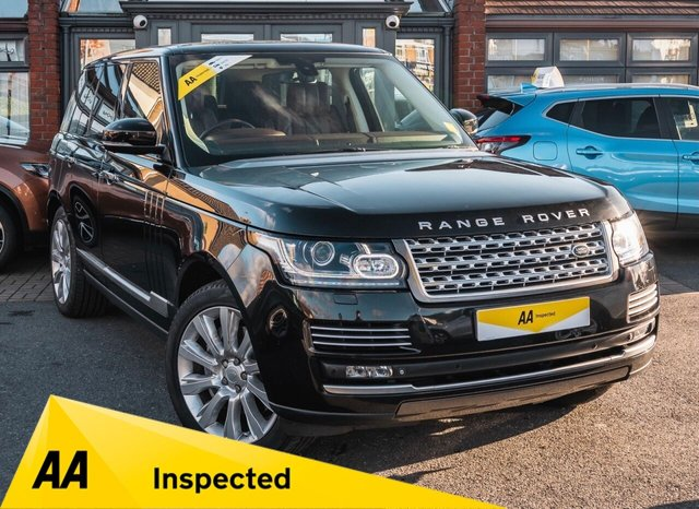 USED 2014 14 LAND ROVER RANGE ROVER 4.4 SDV8 AUTOBIOGRAPHY 5d 339 BHP