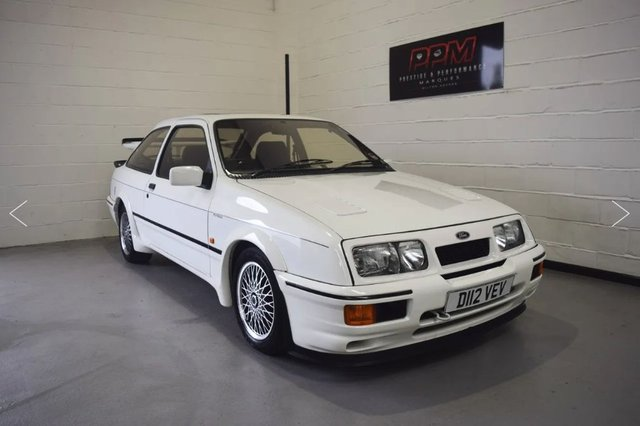 1987 D FORD SIERRA 2.0 RS COSWORTH RS500 (NUMBER 1 of 500)