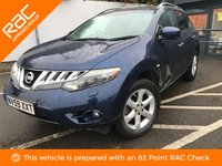 USED 2009 59 NISSAN MURANO 3.5 V6 5d 252 BHP SAT NAV, FULL LEATHER, SUNROOF