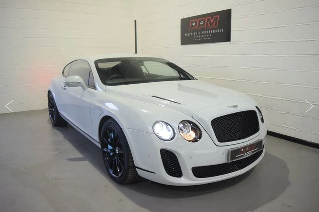 2010 BENTLEY CONTINENTAL 6.0 SUPERSPORTS
