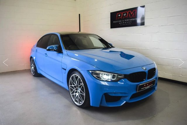 2018 18 BMW M3 Competition
