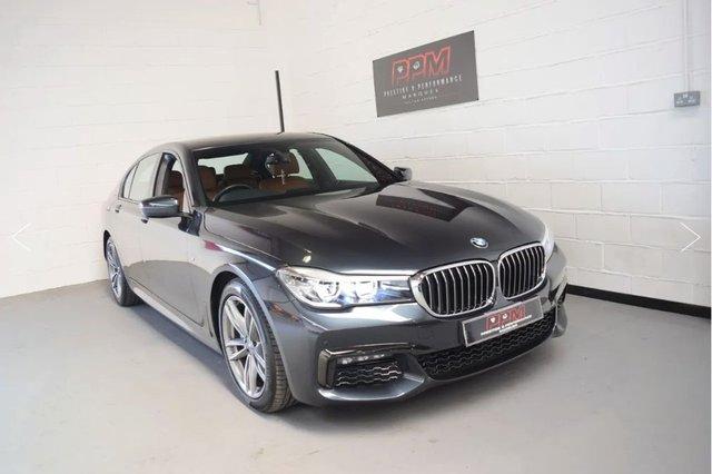 2016 BMW 7 SERIES 740D L M-Sport