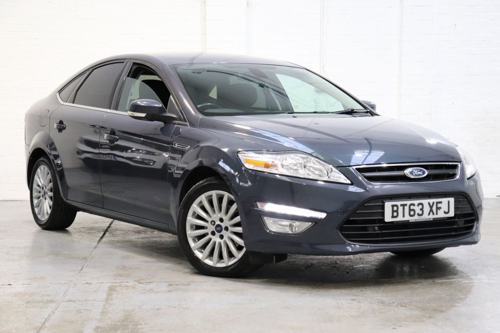 USED 2014 63 FORD MONDEO 2.0 ZETEC BUSINESS EDITION TDCI 5d 138 BHP Satnav + Parking Aid+ Cruise