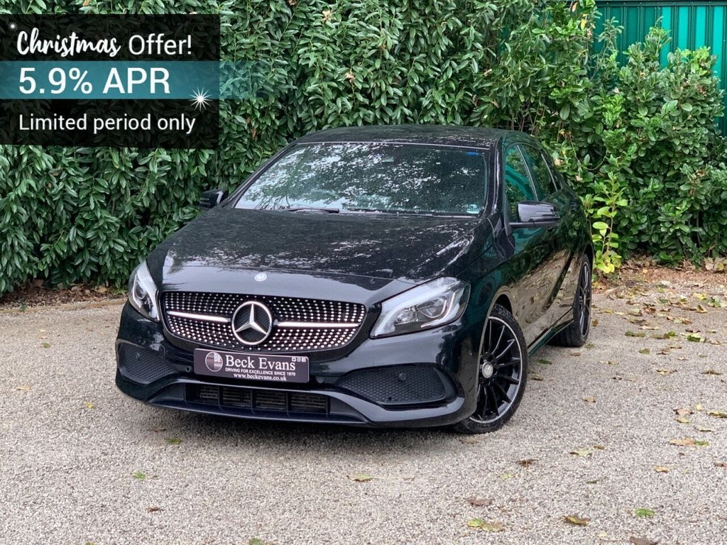 USED 2016 66 MERCEDES-BENZ A-CLASS 2.1 A 220 D AMG LINE PREMIUM 5d 174 BHP AUTOMATIC