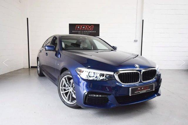 2019 19 BMW 5 SERIES 520 I M-Sport