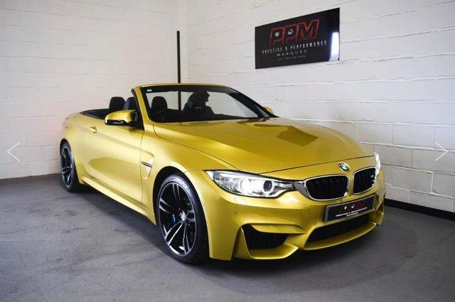 2014 64 BMW M4 3.0 M4 Convertible