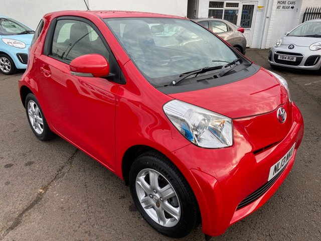 USED 2013 13 TOYOTA IQ 1.0 VVT-I IQ 3d 68 BHP CHEAP CAR FREE ROAD TAX 07544530071 FOR AN APPOINTMENT