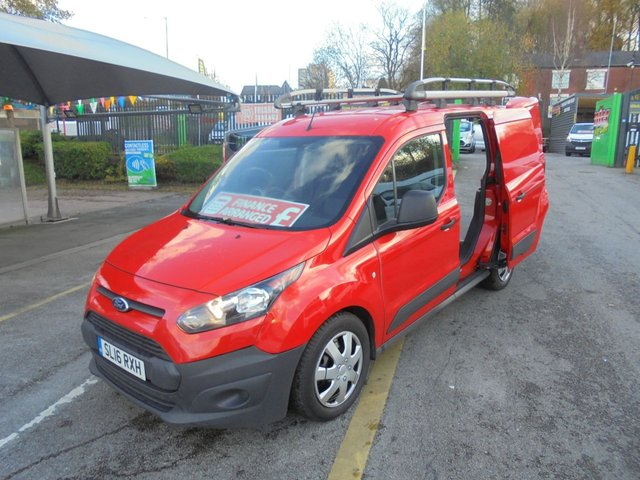 USED 2016 16 FORD TRANSIT CONNECT 1.5 200 MODEL  SWB  DIESEL  ONE OWNER FITTED WITH ROOF RACK  PLY LINED  FULL HISTORY FROM NEW    FORD CONNECT SWB DIESEL VAN 2016 YEAR
