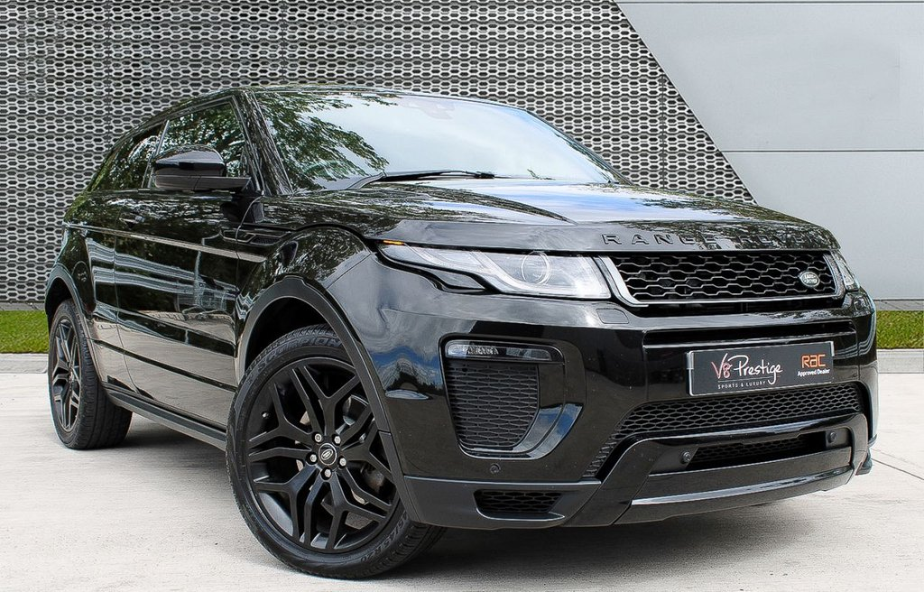USED 2016 16 LAND ROVER RANGE ROVER EVOQUE 2.0 TD4 HSE DYNAMIC 3d 177 BHP *STEALTH PACK/PAN ROOF/COUPE*