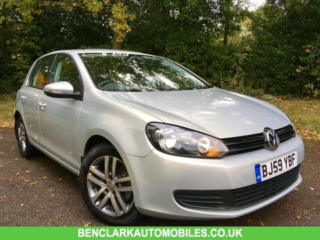2010 59 VOLKSWAGEN GOLF 1.4 SE TSI 5d 121 BHP 1 OWNER/ELECTRIC SUNROOF/LEATHER UPHOLSTRY/X10 VW SERVICES
