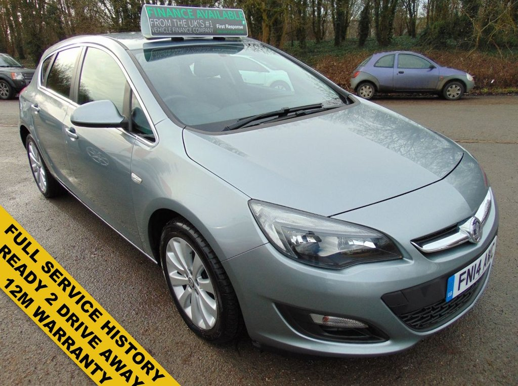 USED 2014 14 VAUXHALL ASTRA 1.2 TECH LINE CDTI ECOFLEX S/S 5d 95 BHP READY TO DRIVE AWAY TODAY