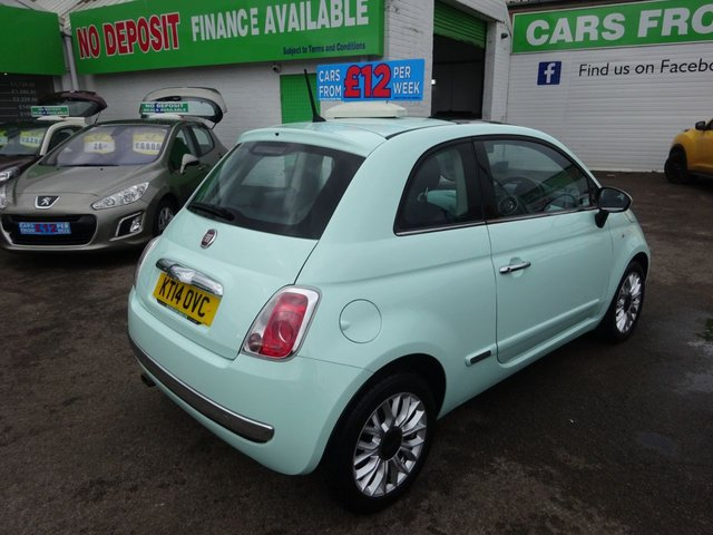 USED 2014 14 FIAT 500 1.2 LOUNGE 3d 69 BHP ** TEST DRIVE TODAY **JUST ARRIVED.01543 877320