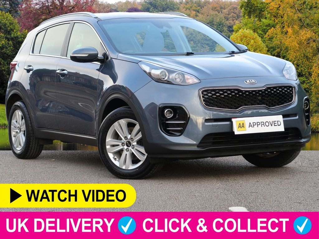 USED 2017 17 KIA SPORTAGE 1.7 CRDi ISG 2 5dr Sat Nav Apple Car Play Sat Nav Apple Car Play PDC