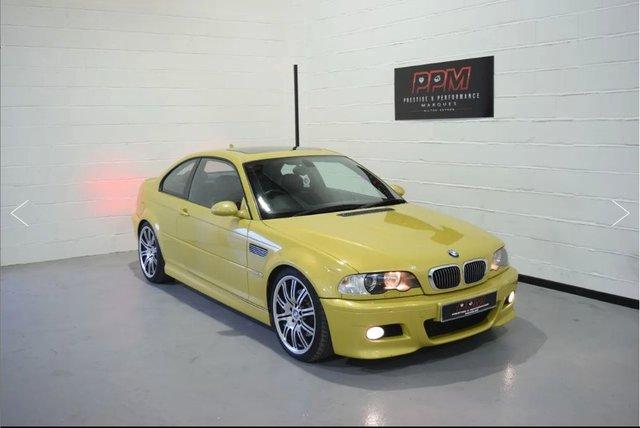 2004 BMW M3 E46