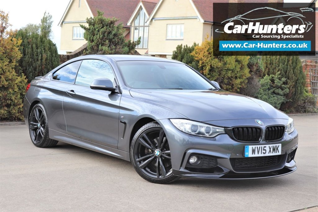 USED 2015 15 BMW 4 SERIES 3.0 430D M SPORT 2d 255 BHP