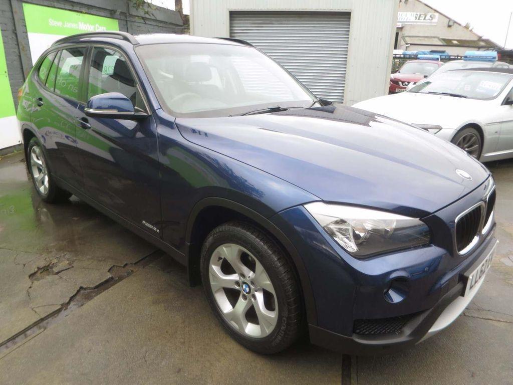 USED 2012 62 BMW X1 2.0 XDRIVE18D SE 5d 141 BHP * 1 F/OWNER + 7 STAMP FSH *