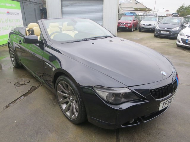 2006 06 BMW 6 SERIES 4.8 650I SMG 2d 363 BHP