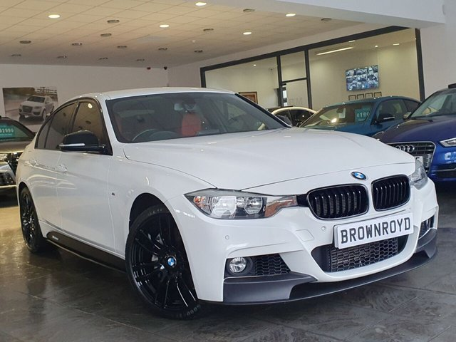 USED 2015 65 BMW 3 SERIES 3.0 335D XDRIVE M SPORT 4d 308 BHP BM PERFORMANCE STYLING+6.9%APR