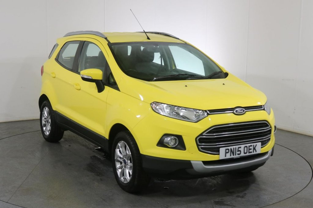 USED 2015 15 FORD ECOSPORT 1.0 TITANIUM 5d 124 BHP 2 OWNERS with 5 Stamp SERVICE HISTORY