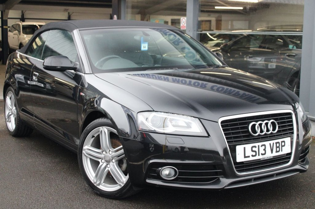 USED 2013 13 AUDI A3 2.0L TDI S LINE FINAL EDITION 2d 138 BHP