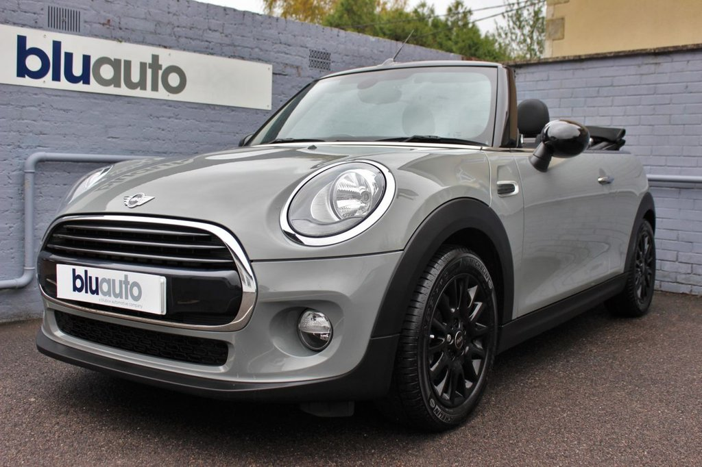 USED 2017 67 MINI CONVERTIBLE 1.5 COOPER 2d 134 BHP 1 Owner, Full Mini Servicing, Reversing Camera, Heated Seats, Bluetooth, Pepper Pack