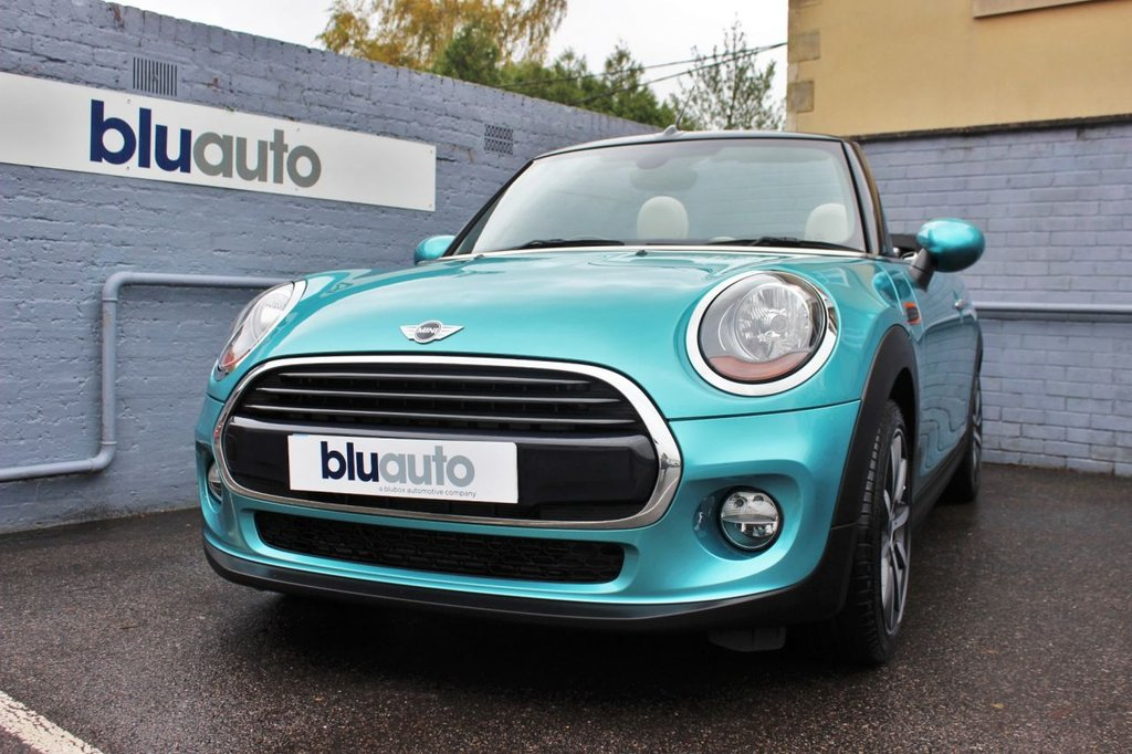 USED 2017 67 MINI CONVERTIBLE 1.5 COOPER 2d 134 BHP 1 Owner, Low Mileage, Huge Specification