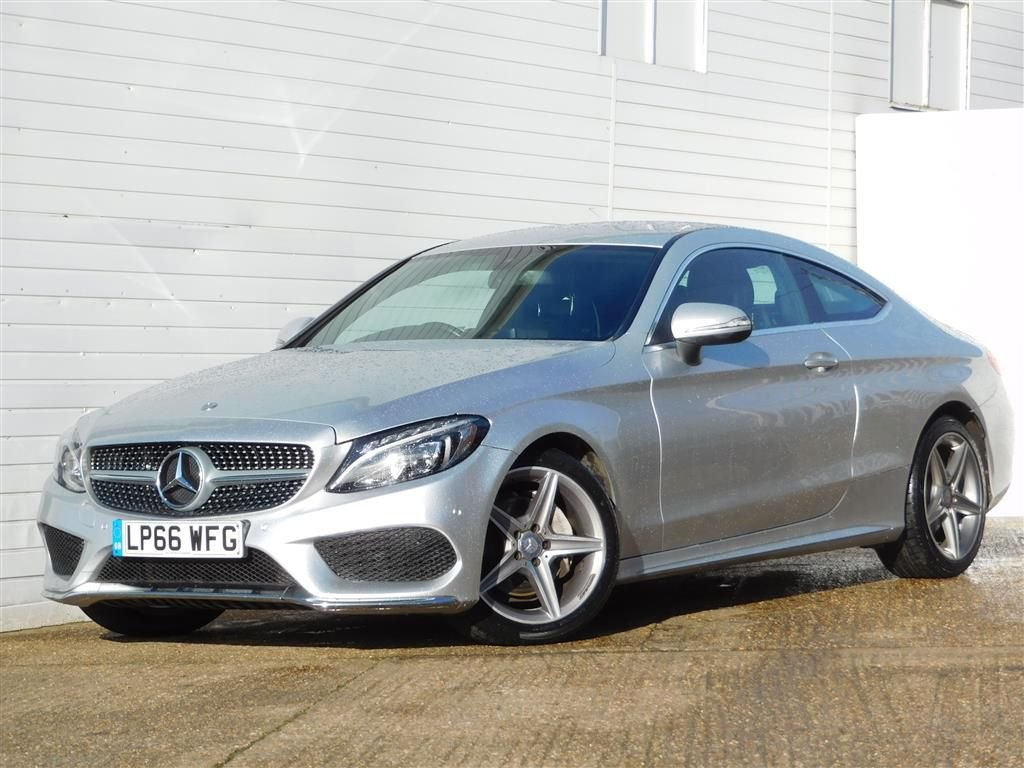 USED 2017 66 MERCEDES-BENZ C-CLASS 2.1 C 220 D AMG LINE 2d 168 BHP 20POUNDTAX RCAMERA HTD LEATHER