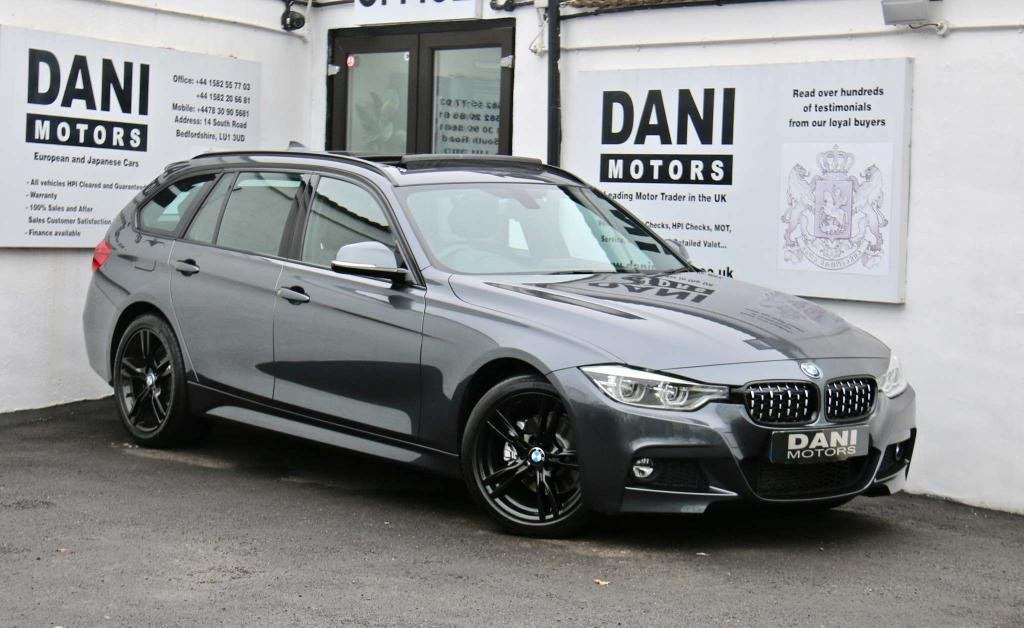 USED 2016 16 BMW 3 SERIES 2.0 320d M Sport Touring Auto xDrive (s/s) 5dr 1 OWNER*SATNAV*PAN ROOF*