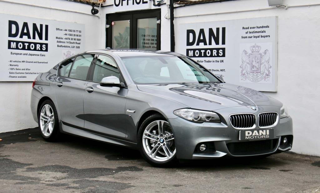 USED 2016 66 BMW 5 SERIES 2.0 520d M Sport 4dr 1 OWNER*SATNAV*PARKING AID