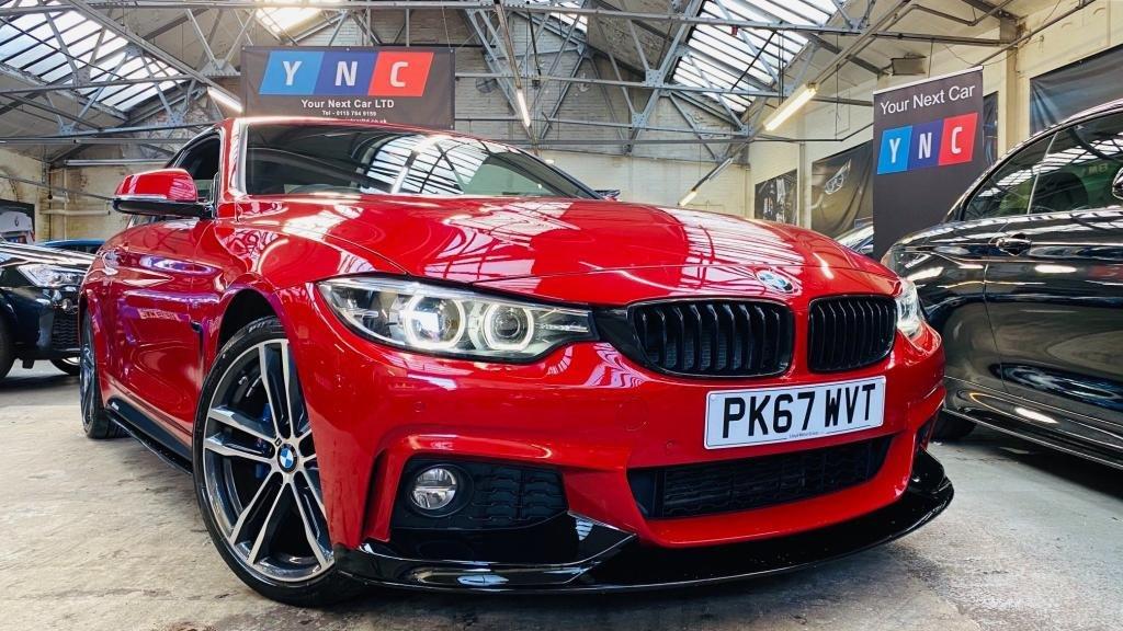 USED 2017 67 BMW 4 SERIES 2.0 420d M Sport Auto (s/s) 2dr PERFORMANCEKIT+COMFORT&MPLUS
