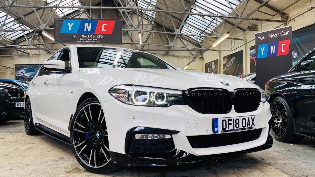 USED 2018 18 BMW 5 SERIES 3.0 530d M Sport Auto (s/s) 4dr PERFORMANCEKIT+PLUSPACK+20S