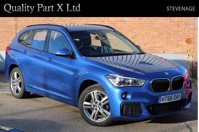 USED 2017 66 BMW X1 2.0 18d M Sport sDrive (s/s) 5dr SATNAV,BLUETOOTH,SENSORS,ECO