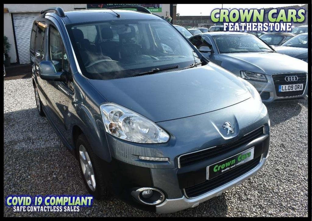 USED 2012 12 PEUGEOT PARTNER 1.6 HDi 8v Tepee Outdoor 5dr FREE FINANCE ELIGIBILITY CHECK