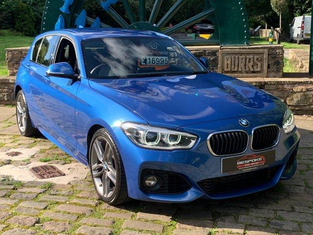 2019 19 BMW 1 SERIES 1.5 118I M SPORT 5d 134 BHP
