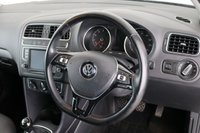 USED 2017 67 VOLKSWAGEN POLO 1.2 MATCH EDITION TSI 5d 89 BHP 1 OWNER   BLUETOOTH   DAB   AC