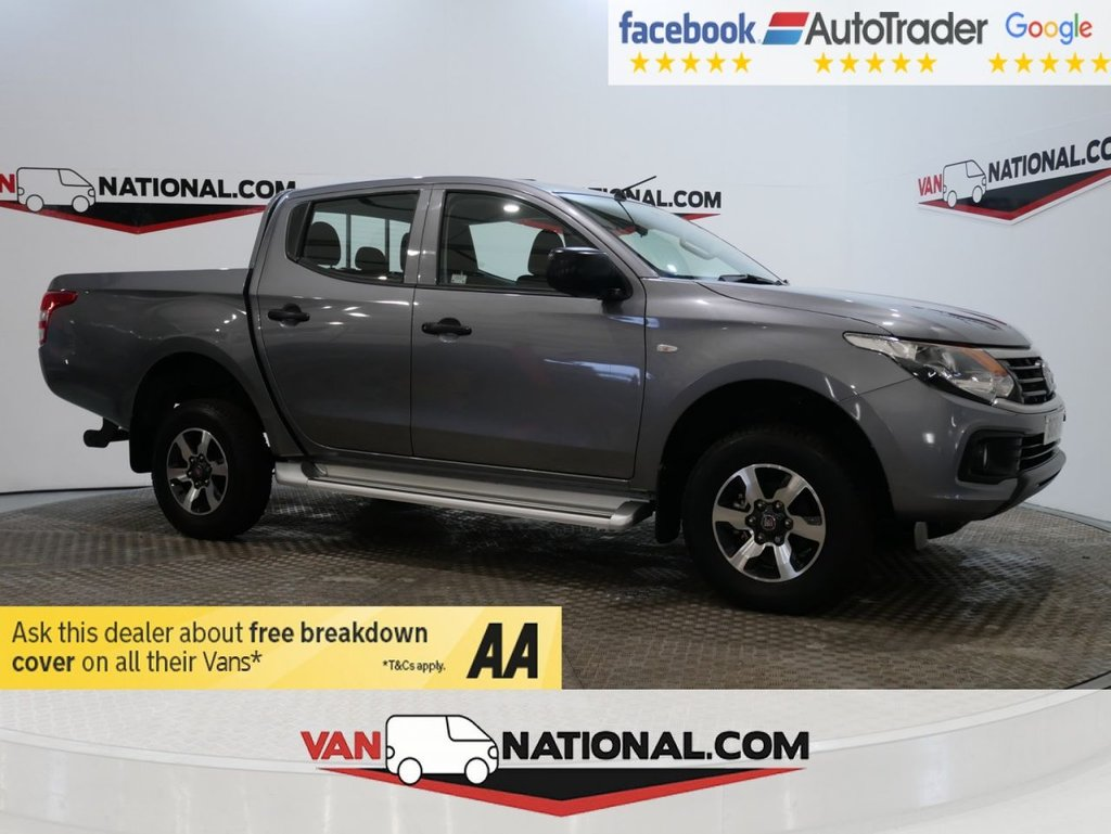 USED 2018 18 FIAT FULLBACK 2.4 SX DCB 152 BHP  * ONE OWNER * EURO 6 * AIR CON * ZERO DEPOSIT FINANCE AVAILABLE *