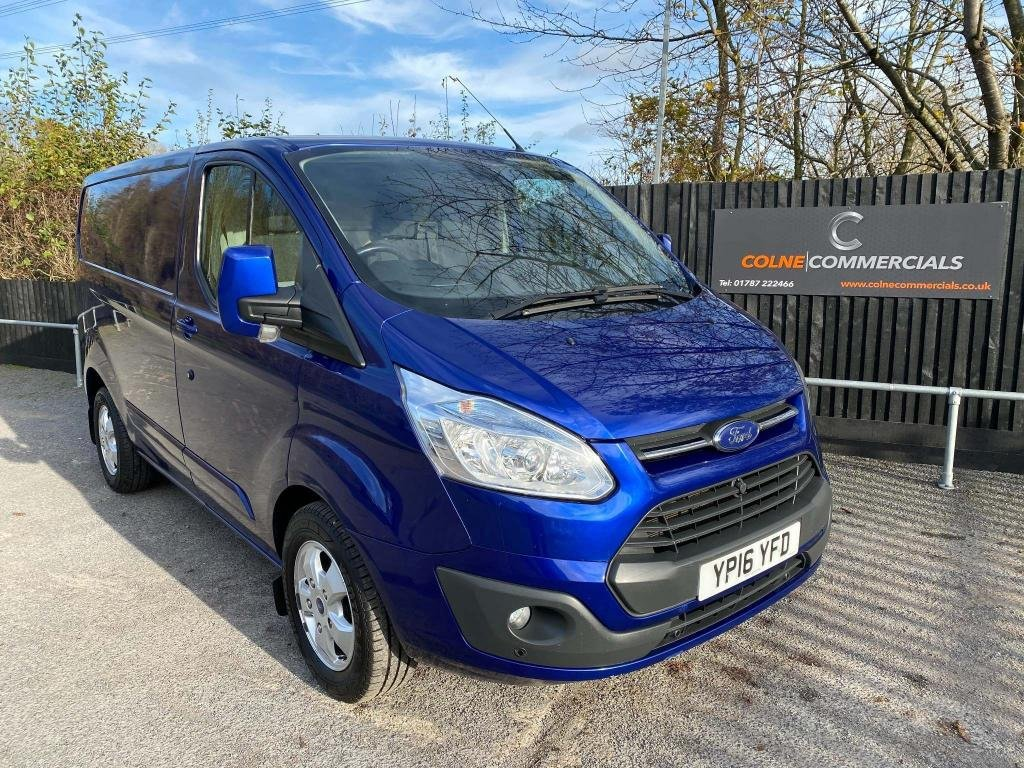 USED 2016 16 FORD TRANSIT CUSTOM 2.2 TDCi 270 Limited L1 H1 5dr **AIR CON**HEATED SEATS**
