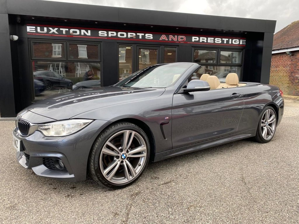 USED 2014 14 BMW 4 SERIES 2.0 428i M Sport 2dr SAT NAV/REV CAM