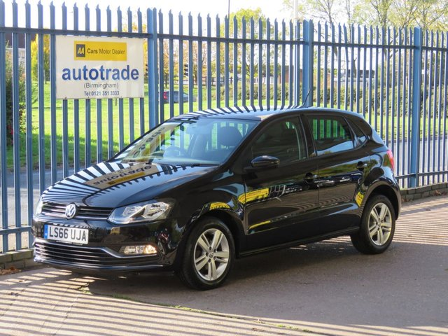 USED 2016 66 VOLKSWAGEN POLO 1.2 MATCH TSI 5d 89 BHP Low Miles,Great Specification